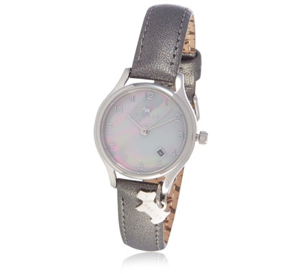 Radley London Liverpool Street Mother of Pearl Leather Strap Watch