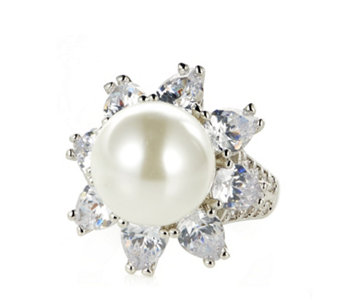 Elizabeth Taylor South Sea-Style Simulated Pearl Ring - 307367
