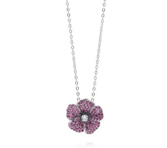 The Poppy Collection 1.51ct tw Pendant/Pin by Diamonique - 307868