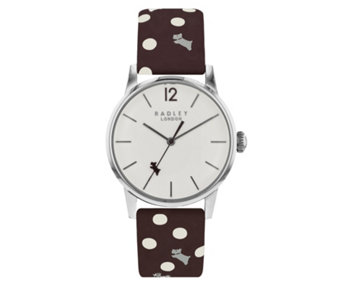 Radley London Vintage Dog & Dot Leather Strap Watch - 316271