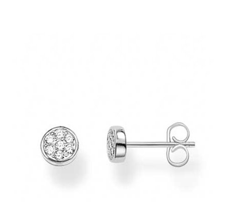 Thomas Sabo Sparking Circles Stud Earrings Sterling Silver
