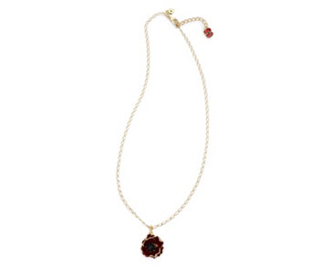 The Poppy Collection Pendant & 48cm Chain by Bill Skinner - 305175