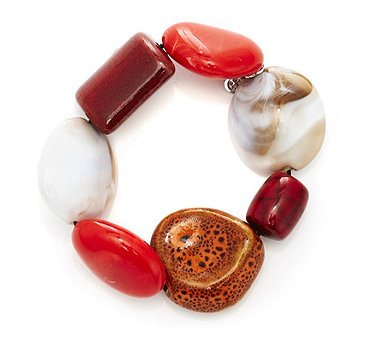 One Button Classically Quirky Bracelet - 312875