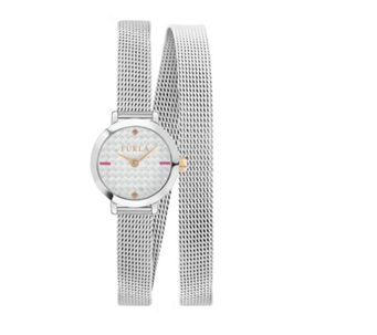 Furla Ladies Vittoria Mesh Strap Watch - 314975