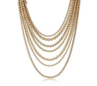 Fornash Layered Bead Necklace - 316175