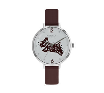 Radley London Big Folk Dog Leather Strap Watch - 316275