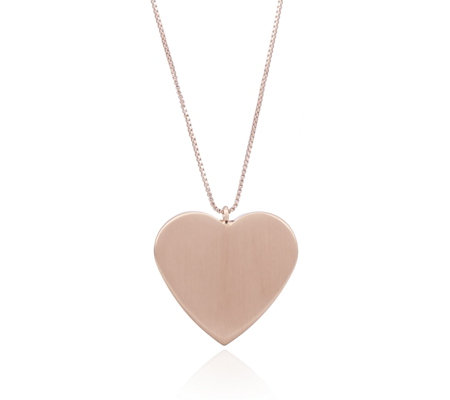 Pilgrim Heart Pendant Long Necklace
