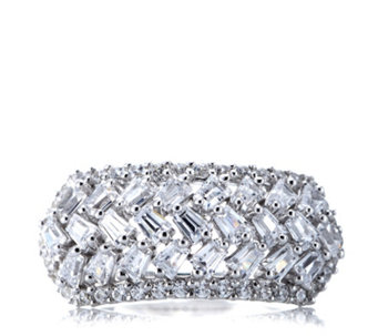Diamonique by Tova 1.4ct tw Band Ring Sterling Silver - 307478