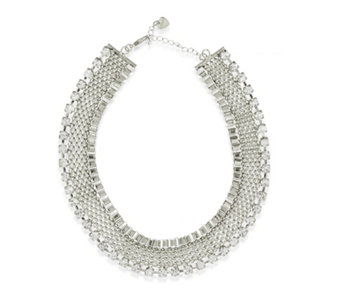 Loverocks Crystal Chain 40cm Necklace - 311679