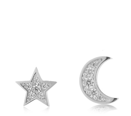 stud estella silver star rings mini and bartlett earrings
