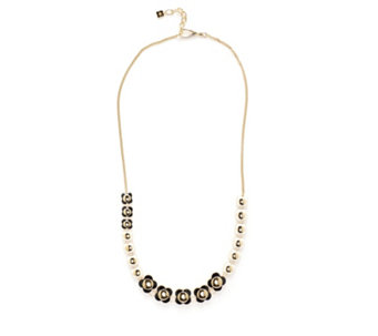 Orla Kiely Long Flower 75cm Necklace with 5cm Extender - 305982