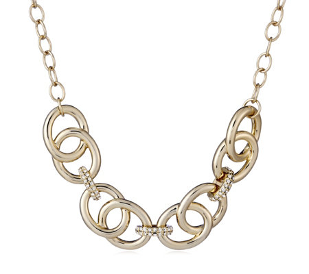 Roberto by RFM Solo Oro Circle Link 47cm Necklace