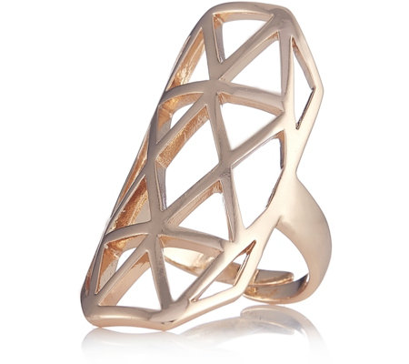 """As Is"" Pilgrim Adjustable Abstract Ring"