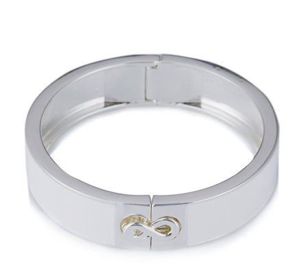 Roberto by RFM L'Infinito Enamel Hinged Bangle