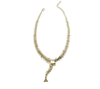 Roberto by RFM Alici Fish Crystal 42cm Necklace - 304689