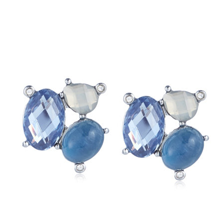 Outlet Lonna & Lilly Crystal Cluster Stud Earring