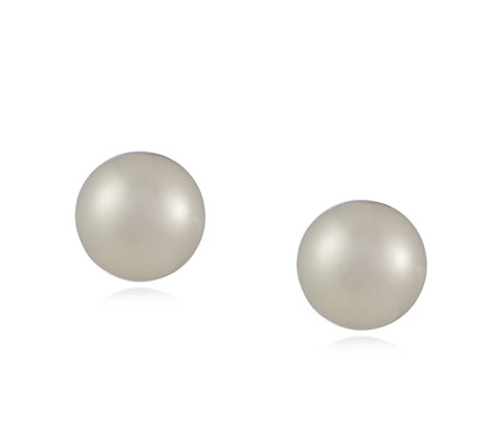 Links of London Effervescence White Pearl Stud Earrings Sterling Silver