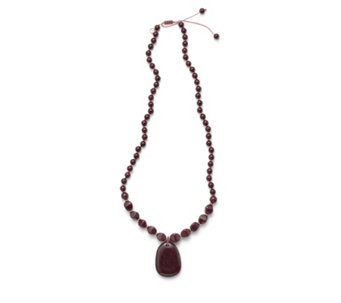 Lola Rose Zanzibar Semi Precious Pendant 70cm Necklace - 307890