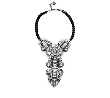 Butler & Wilson Y-Shape Art Deco Style 39cm Necklace