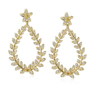 Roberto by RFM Cortona Pave Drop Earrings - 308391