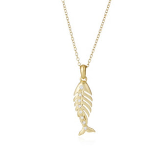 Roberto by RFM Pesce 50cm Necklace with 5cm Extender - 306792