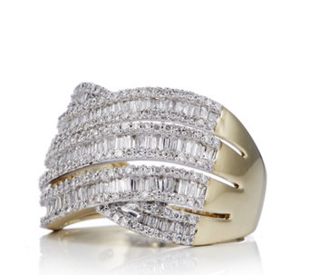 1.25ct Diamond Entwine Ring 9ct Gold - 310993