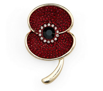 The Poppy Collection Sparkle Brooch by Buckley London - 312493
