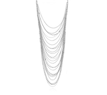 Loverocks Crystal Layer 56cm Necklace - 315293