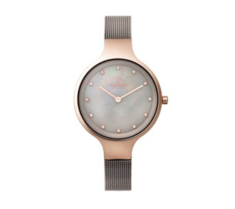 Obaku Ladies Sky Mesh Strap Watch - 316093