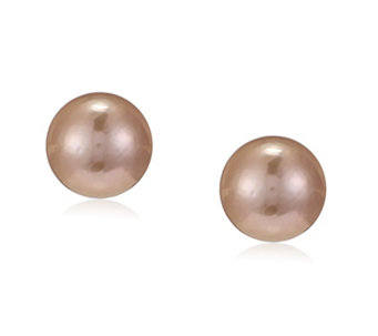 Honora 13-14mm Cultured Ming Pearl HappyBack Earrings 14ct Gold - 307994