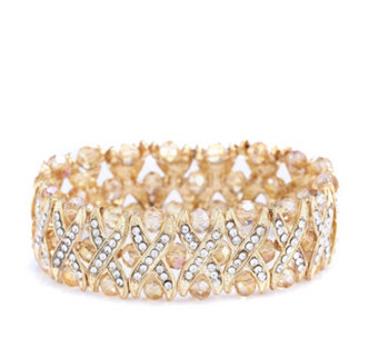 Frank Usher Crystal Kiss Stretch Bracelet - 308196