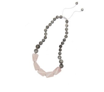 Lola rose necklaces pendants jewellery qvc uk lola rose francesca semi precious 45cm necklace 327796 mozeypictures Gallery