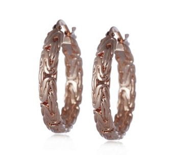 Bronzo Italia Byzantine Hoop Earrings - 309598