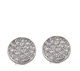 K by Kelly Hoppen Paris Collection Sapphire Stud Earrings Sterling Silver - 312999