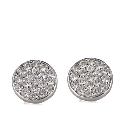 K by Kelly Hoppen Paris Collection Sapphire Stud Earrings Sterling Silver