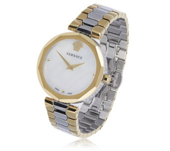 Versace Idyia Two Tone Bracelet Strap Watch - 319999