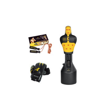 Tunturi Bruce Lee Slam Man Electronic Free Standing Punch Bag - 401625