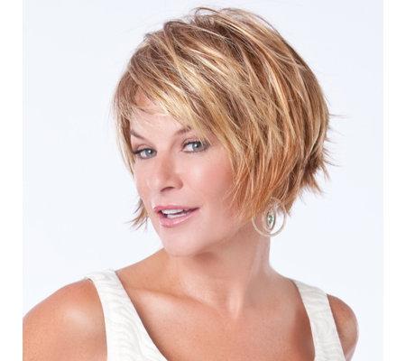 Toni Brattin S Hair Fabulous Trendsetter Wig Page 1 Qvc Uk