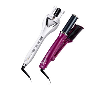 Instyler Tulip Auto Curler & Ionic Rotating Iron - 401244