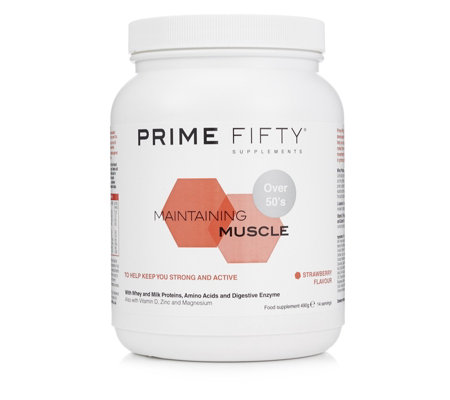 Prime Fifty Maintaining Muscle 490g Tub