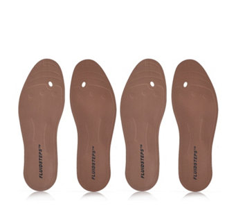 Fluidsteps Massaging Fluid Filled Insoles 2 Pairs - 400453