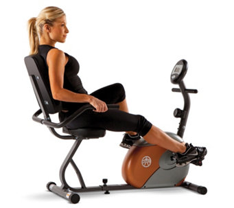 Marcy Start ME709 Recumbent Magnetic Exercise Bike - 401956