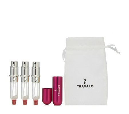 Travalo Classic Spray Set with 2 Refills