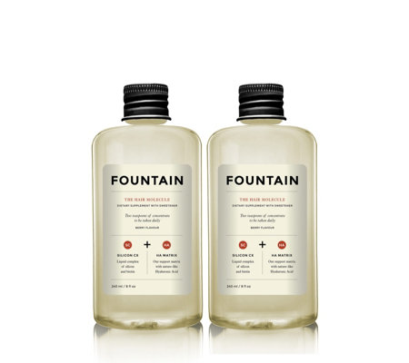 Fountain Hair Molecule Duo Drink