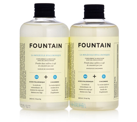 Fountain Hyaluronic Molecule Duo Drink