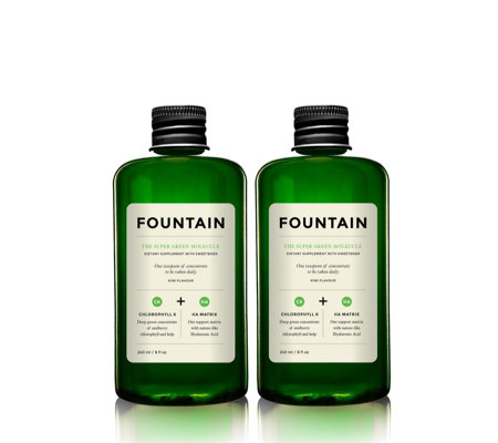 Fountain Super Green Molecule Duo Drink