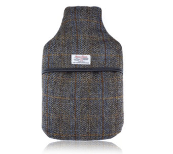 Vagabond 2 Ltr Hot Water Bottle Harris Tweed - 401378