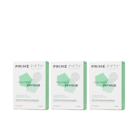 Prime Fifty Fighting Fatigue 3 Month Supply