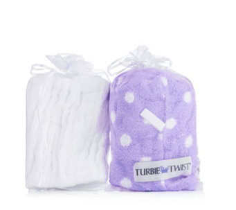 Turbie Twist Set of 2, 1x Headband, 1x Turbie Twist Towel - 401184