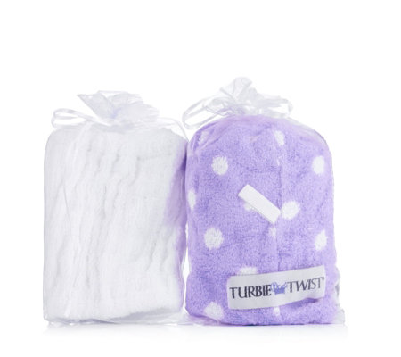Turbie Twist Set of 2, 1x Headband, 1x Turbie Twist Towel